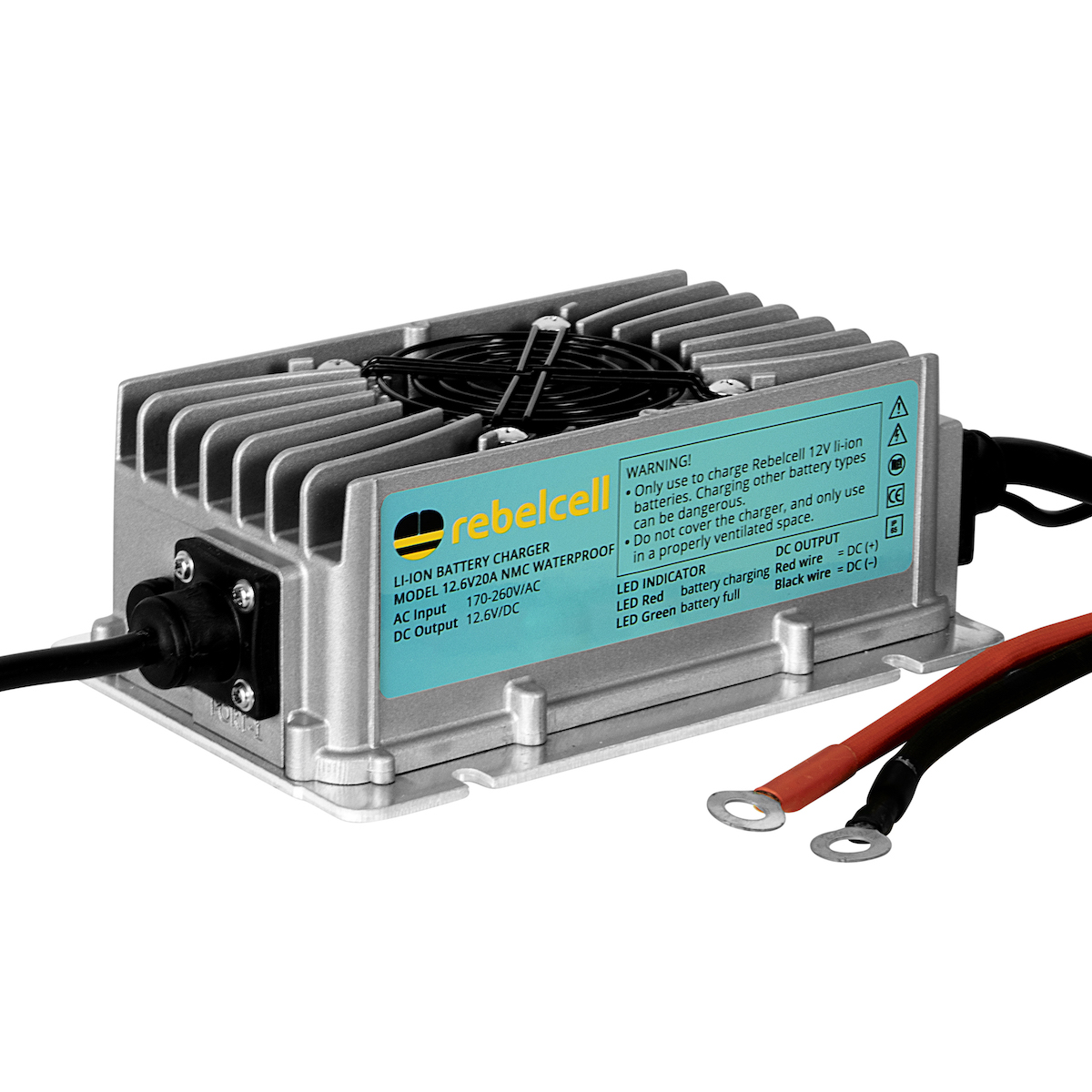 NEW! Waterproof battery chargers